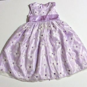 Fancy Lilac Toddler Dress